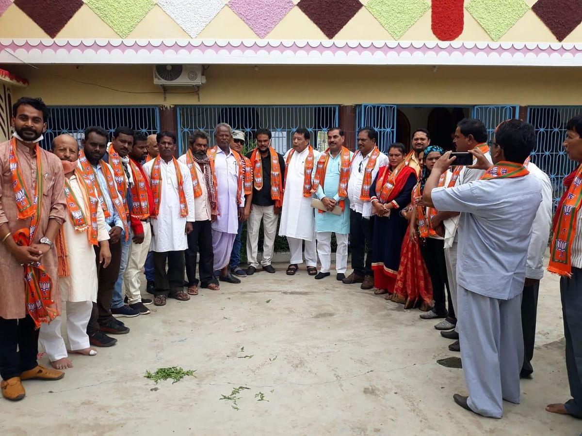 कांग्रेस मुक्त होने की ओर बढ़ रहा अनूपपुर जिला -बिसाहूलाल सिंह