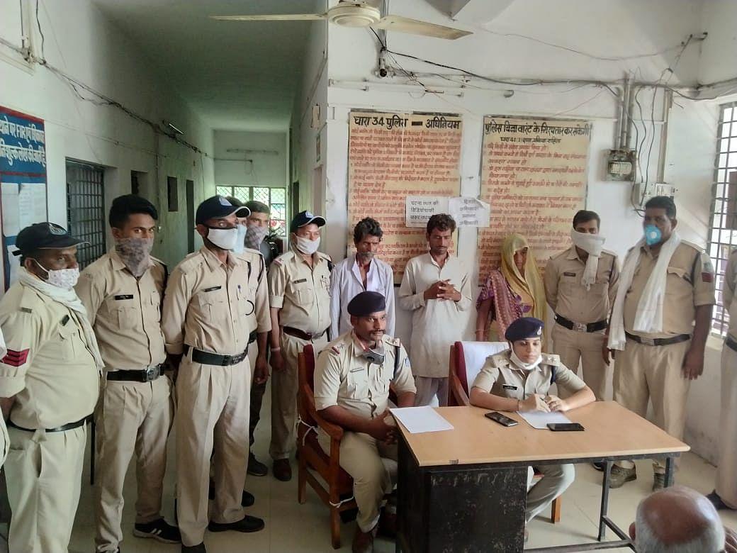 अंधे कत्ल का खुलासाः पिता ने बहू-जमाई के साथ मिलकर की बेटे की हत्या