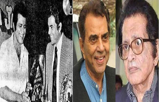 धर्मेंद्र ने तस्वीर शेयर कर खास अंदाज में दी मनोज कुमार को जन्मदिन की बधाई