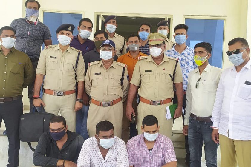 शाजापुर में लालघाटी पर हुई कथित लूट का निकला उज्जैन कनेक्शन,  पुलिस ने किया पर्दाफाश