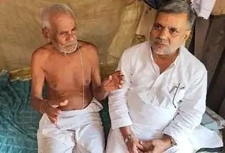 भाजपा एमएलसी ने कांग्रेस के पूर्व विधायक को दिया एक लाख का सहयोग