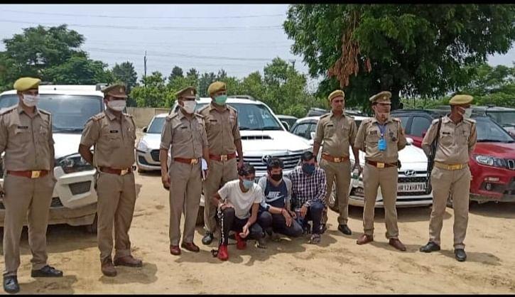 दो वाहन चोर गैंग के पांच सदस्य गिरफ्तार, 15 कार और एक मोबाइल फोन बरामद