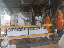 किड़ियां पंचायत में आयुष चिकित्सा शिविर का आयोजन किया गया
