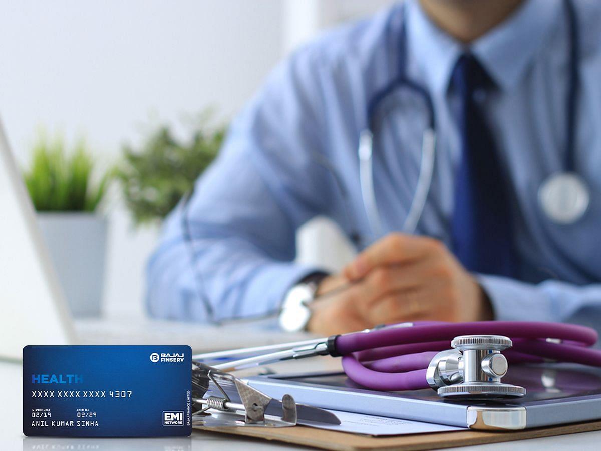 इंश्योरेंस द्वारा कवर नहीं किए जाने वाले मेडिकल बिल के भुगतान के लिए बजाज फिनसर्व हेल्थ EMI Netword card का लाभ उठाएँ