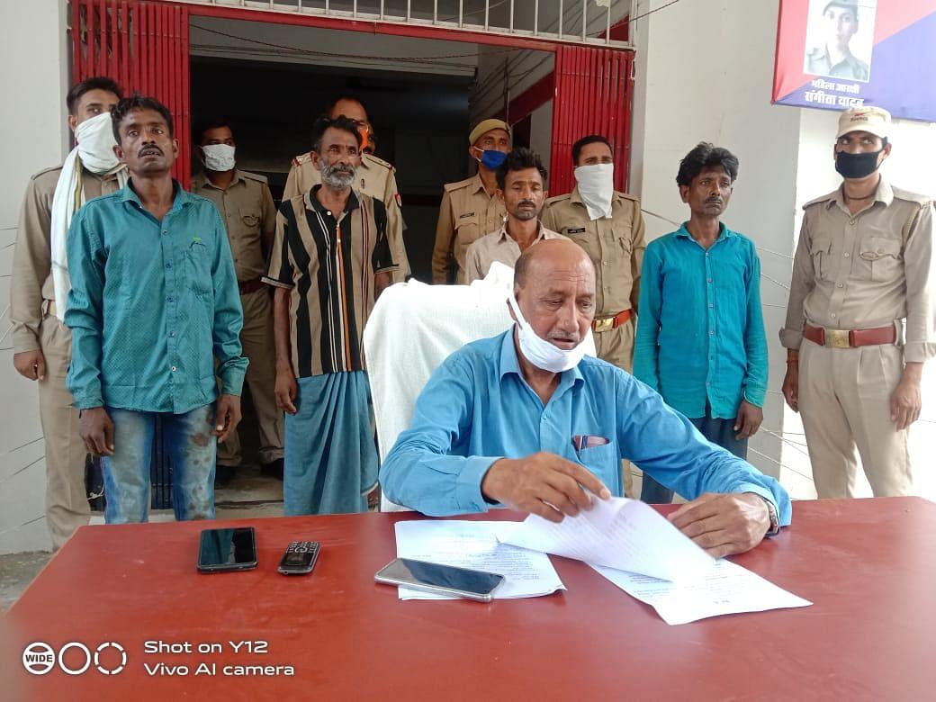 मानसिंह हत्याकांड का खुलासा, चार गिरफ्तार