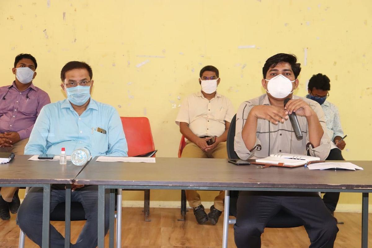 वैश्विक महामारी कोरोना को लेकर समीक्षात्मक बैठक