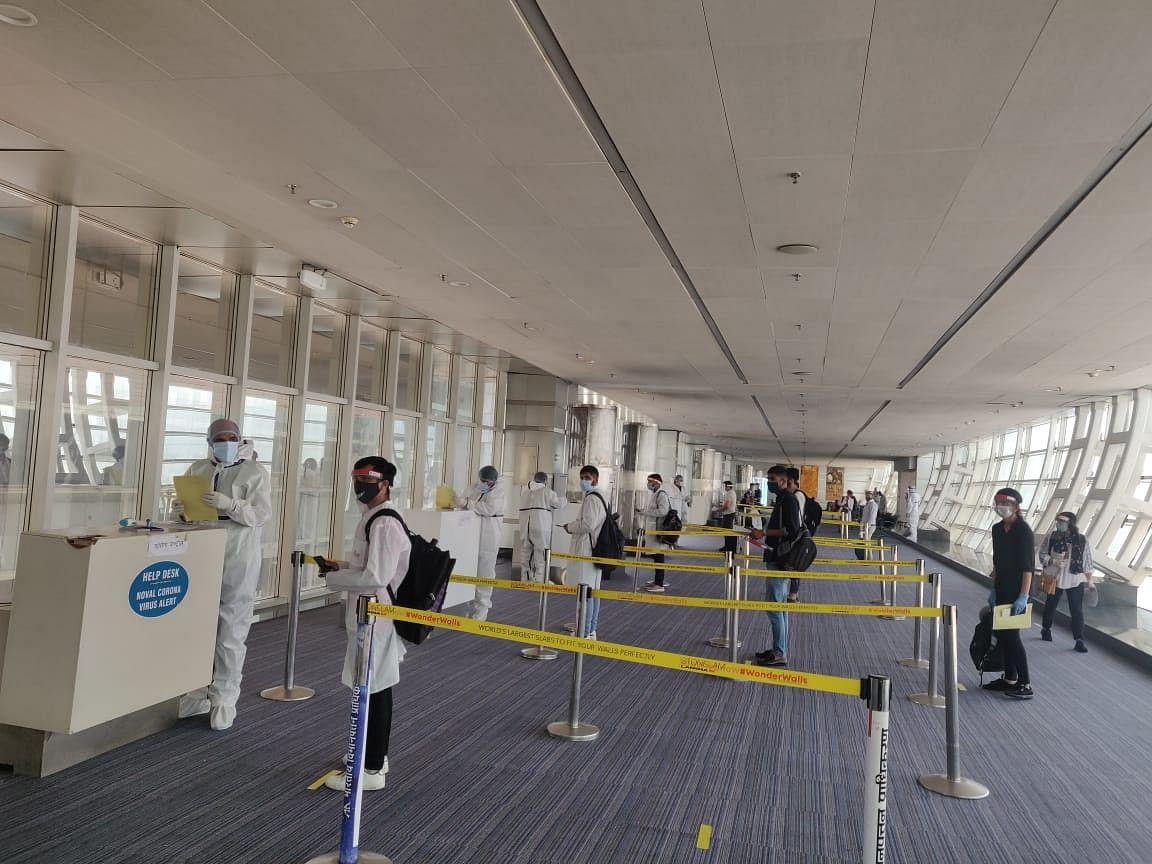 86 उड़ानों से 14 हजार से अधिक प्रवासी राजस्थानी जयपुर पहुंचे