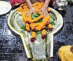 सावन का तीसरे सोमवार पर सोमवती अमावस्या के विशेष योग में हुई शिव आराधना
