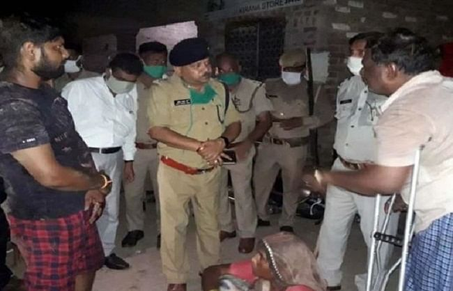 Three gunned down and two injured in Kasganj shoot -out.
