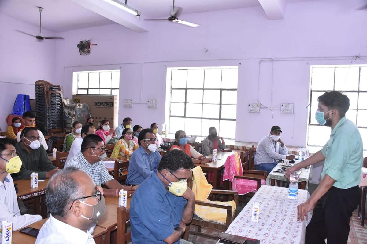 मुख्यमंत्री के ई-संवाद में प्रतिनिधियों ने लिया हिस्सा