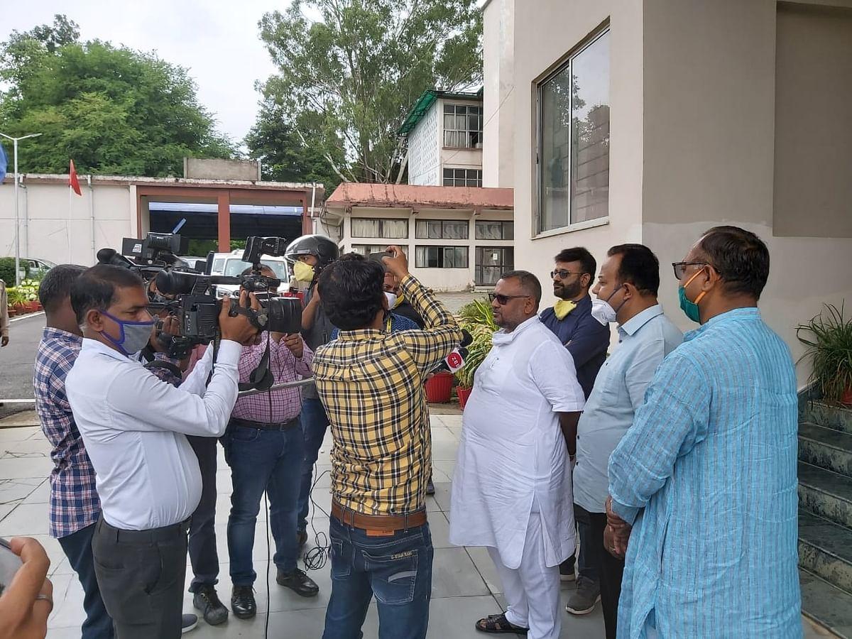 झारखंड  के डीजीपी ने दिया 24 घंटे के अंदर जयवर्धन के हत्यारों की गिरफ्तारी का आश्वासन :प्रदीप वर्मा