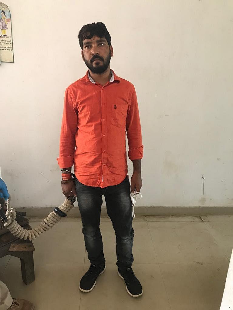 15 लाख रुपए की रंगदारी मांगने वाला गिरफ्तार