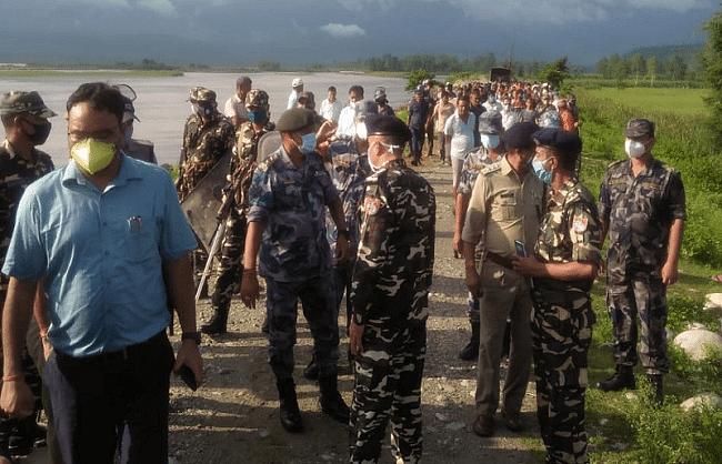 भारत-नेपाल के अफसरों के बीच बाॅर्डर पर हुई वार्ता रही बेनतीजा