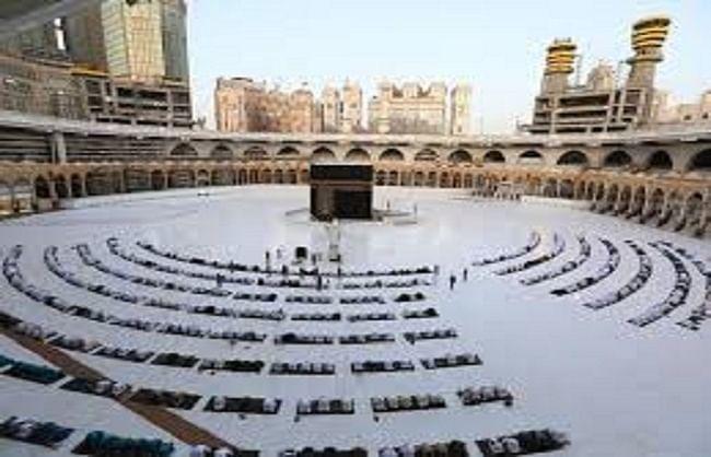 सउदी अरब रविवार से पवित्र स्थानों पर जाने से लगाएगा प्रतिबंध