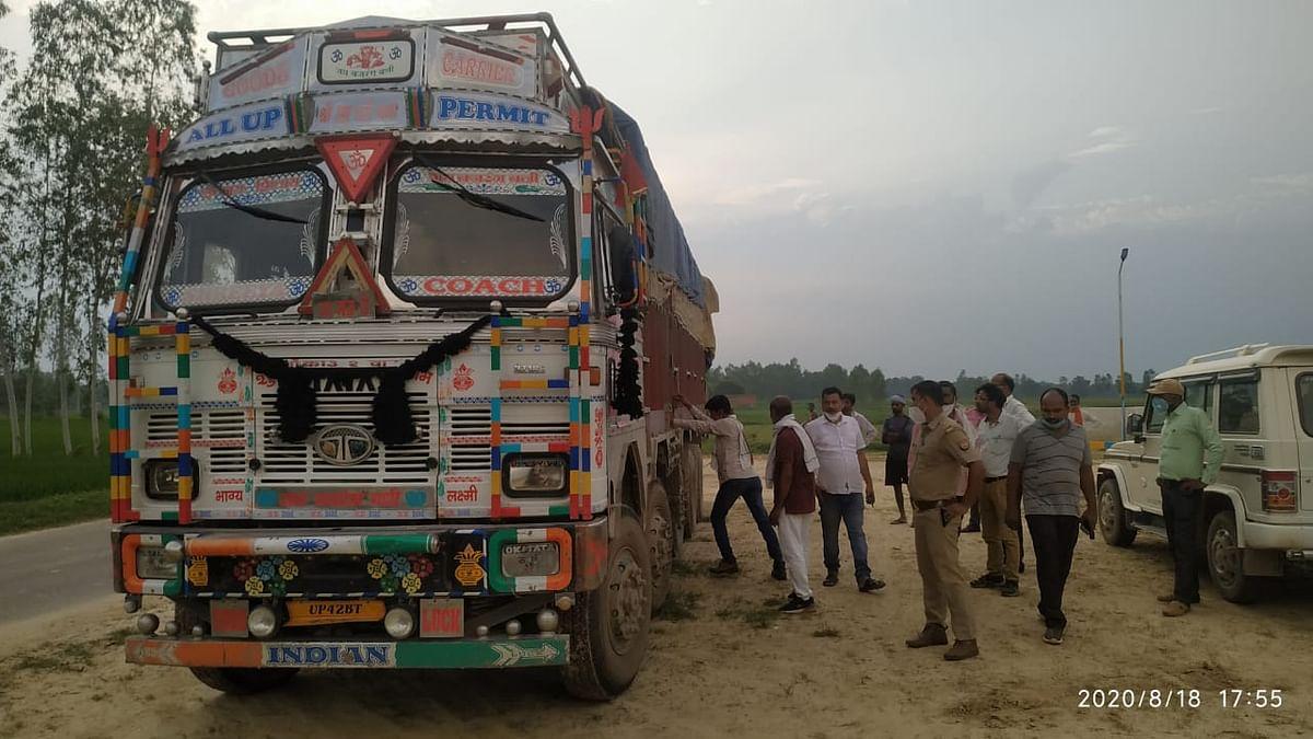 रायबरेली : ट्रक में लदी सीमेंट लूटकर चालक की हत्या कर शव को नाले में फेंका