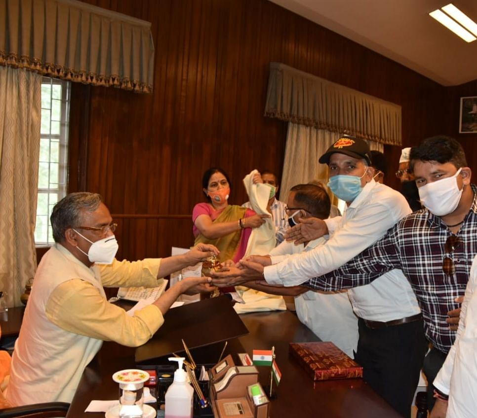विस्थापितों की समस्या के निस्तारण पर मेयर ने मुख्यमंत्री का जताया आभार