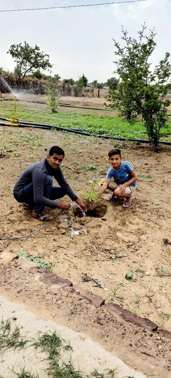 दहानू में फेवीकोल चैम्पियन क्लब ने किया वृक्षारोपण