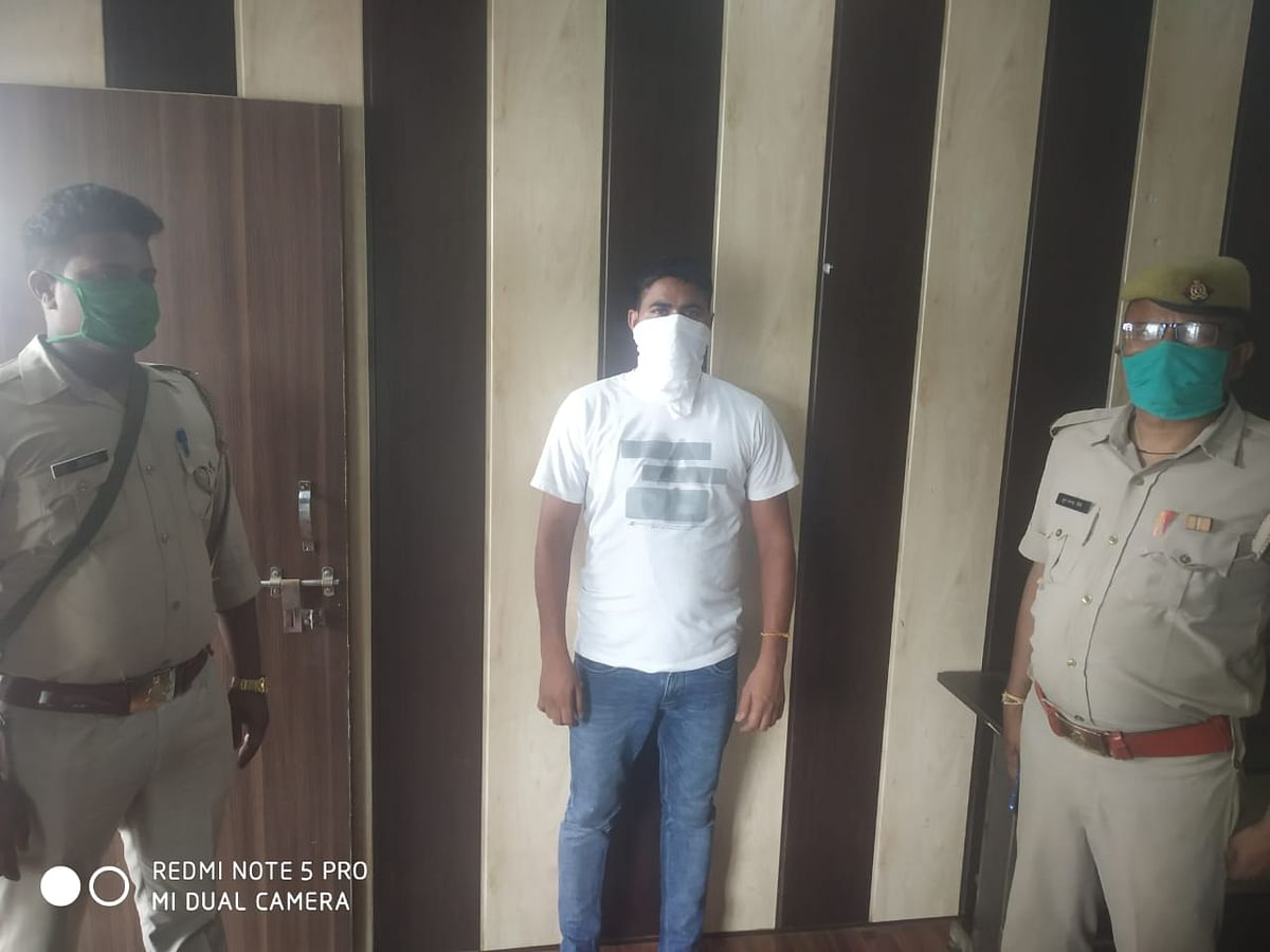 एनसीआर का कुख्यात बदमाश सुरेंद्र चिड़िया और आकाश गोलू गिरफ्तार