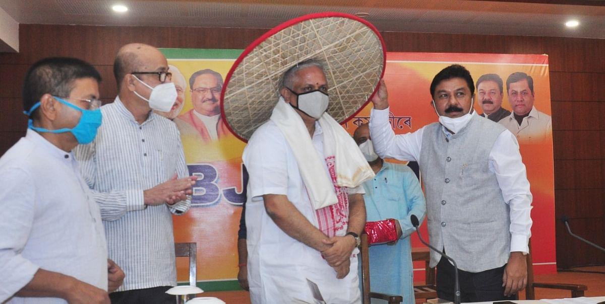भाजपा राष्ट्रीय सांगठनिक महासचिव की उपस्थिति में प्रदेश पदाधिकारियों की बैठक
