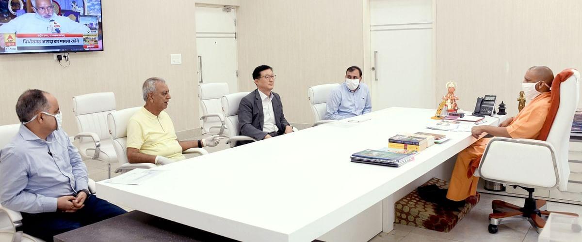 दक्षिण कोरिया की कंपनी उप्र में लगाएगी इलेक्ट्रिक व्हीकल प्लांट