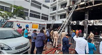विजयवाड़ा के कोविड केयर सेंटर में लगी आग, सात 7 मरीजों की मौत