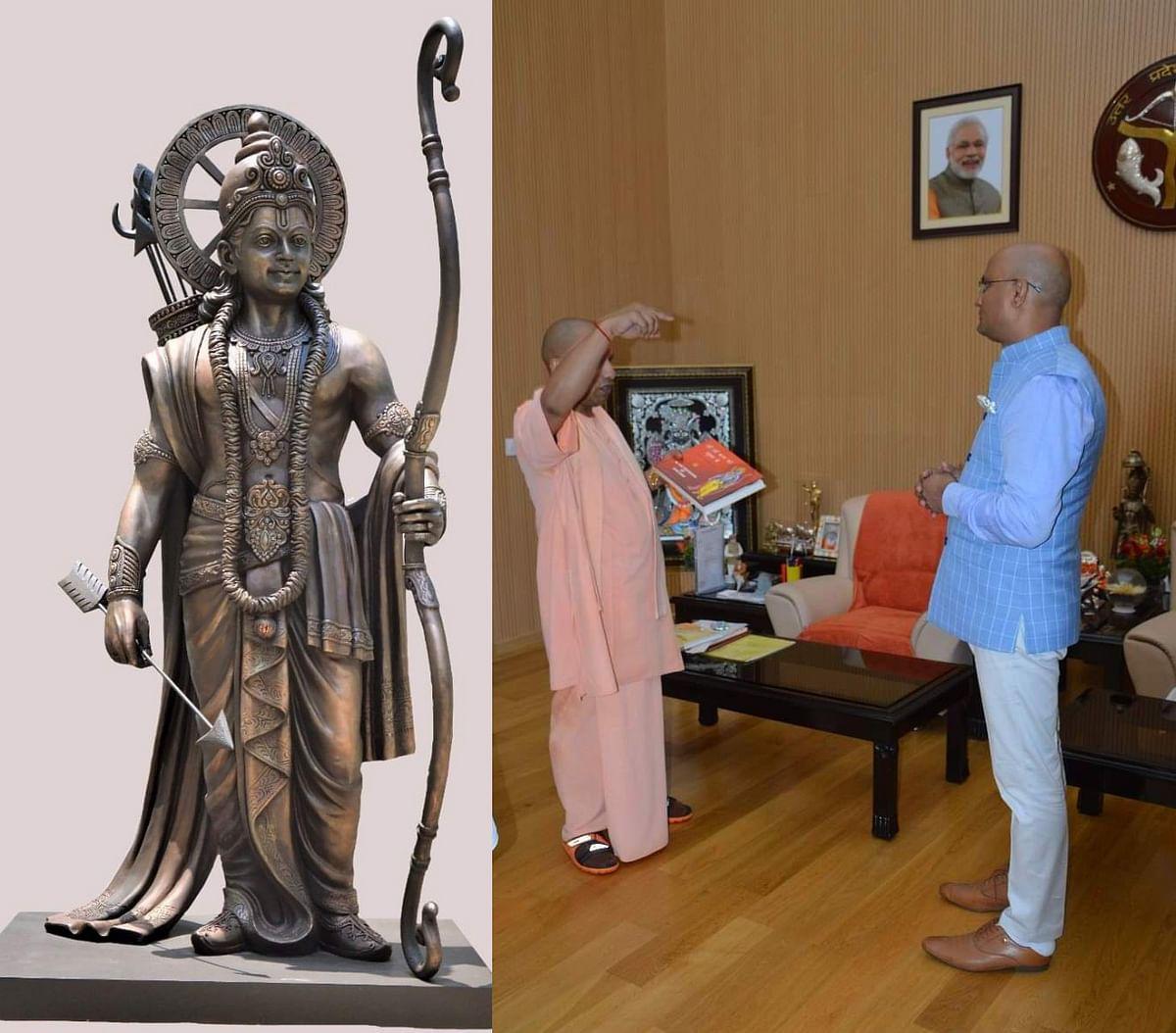 झुंझुनू का बेटा अयोध्या में बनाएगा भगवान श्री राम की 825 फुट ऊंची प्रतिमा