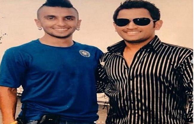 अभिनेता रणवीर सिंह ने  महेंद्र सिंह धोनी के साथ बिताये पलों को किया याद