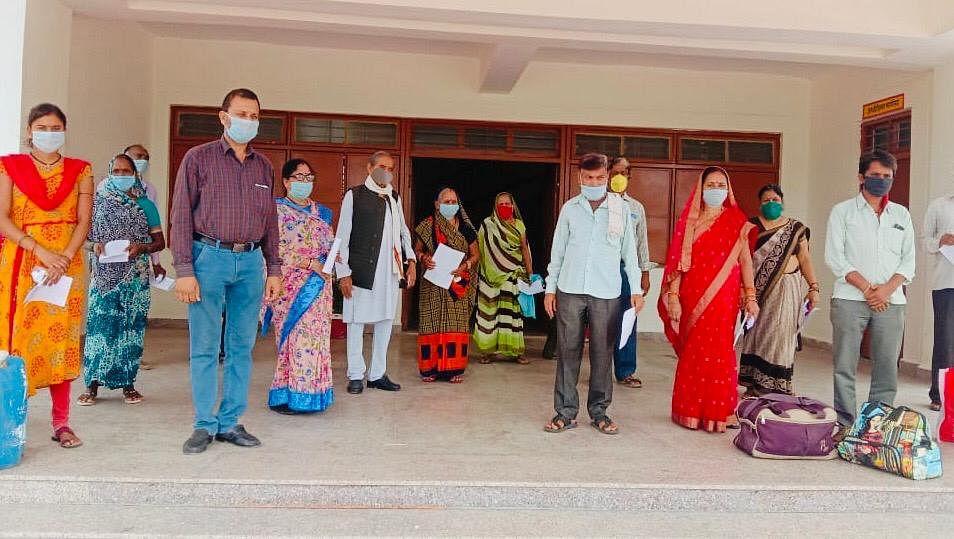 डायबिटीज, हृदय रोग पीडि़त सहित 15 कोरोना संक्रमित स्वस्थ होकर पहुंचे घर