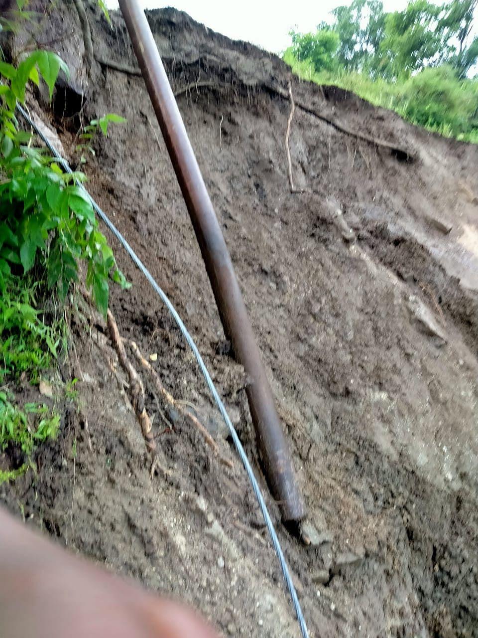 जोशीमठः कलगोठ और डुमक गांव में बारिश से तबाही, उच्छवांग्वाड में भूस्खलन का गंभीर खतरा