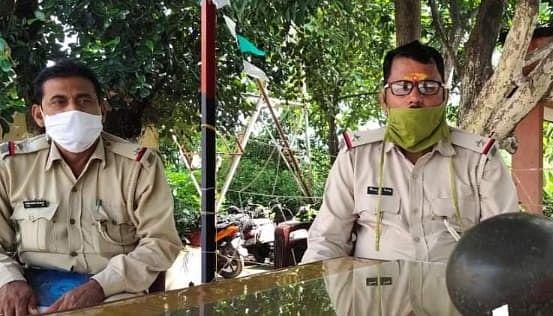 झगराही मंदिर से गायब शिवलिंग  बरोरा पुलिस ने किया बरामद।