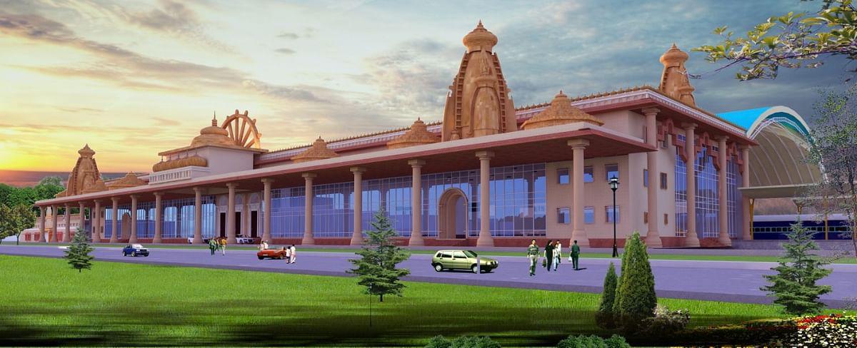 राम मंदिर के स्वरूप में दिखेगा अयोध्या रेलवे स्टेशन