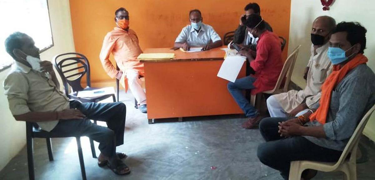 भाजपा जिलाध्यक्ष ने किया 839 बूथों का सत्यापन