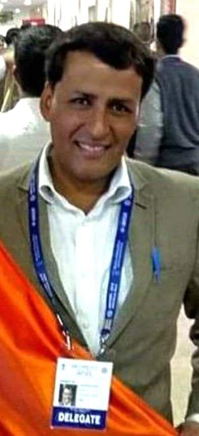 राष्ट्रीय पुरस्कार के लिए चुने गए एनडीएमसी के शिक्षक सुरेंद्र आंतिल