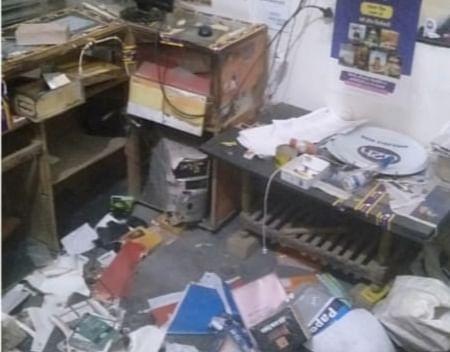 सम्पूर्ण लॉकडाउन के दौरान मोबाइल की दुकान में हुई चोरी