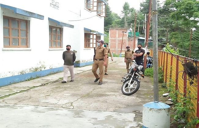 कोरोना: अल्मोड़ा आकाशवाणी आवासीय परिसर अस्थाई जेल में तब्दील