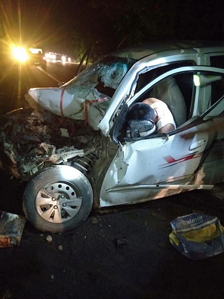 खगड़िया में भीषण सड़क हादसा, 20 मजदूर घायल, दो की हालत नाजुक