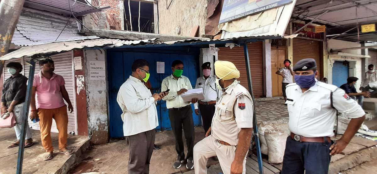 कोरोना संकट : धौलपुर के कई इलाकों में लगाया कर्फ्यू