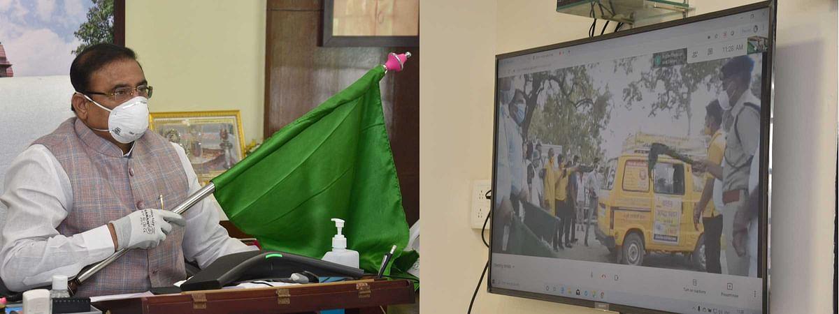 मास्क नहीं लगाने पर चालान के साथ मिलेंगे दो मास्क : मंत्री सिंह