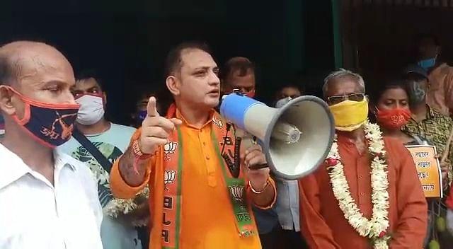 अयोध्या में राम मंदिर के शिलान्यास के दिन बंगाल के लोग करेंगे कार्यक्रम, ममता में दम हो तो रोक कर दिखाएं, प्रदेश भाजपा उपाध्यक्ष की मुख्यमंत्री को चुनौती