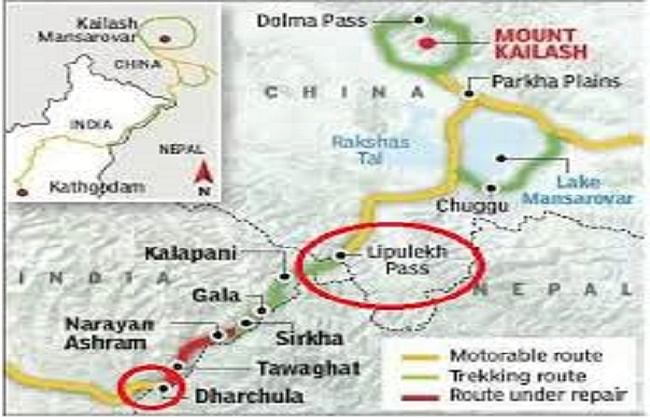  लिपुलेख के करीब तैनात हुई चीनी सेना