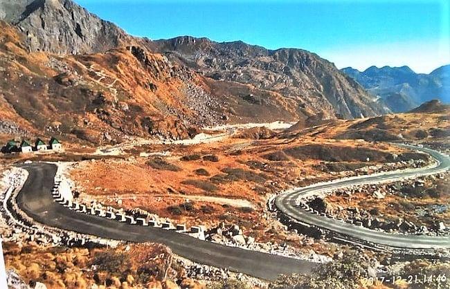 चीन ने अब डोकलाम में मरम्मत करके बनाईं दो सड़कें