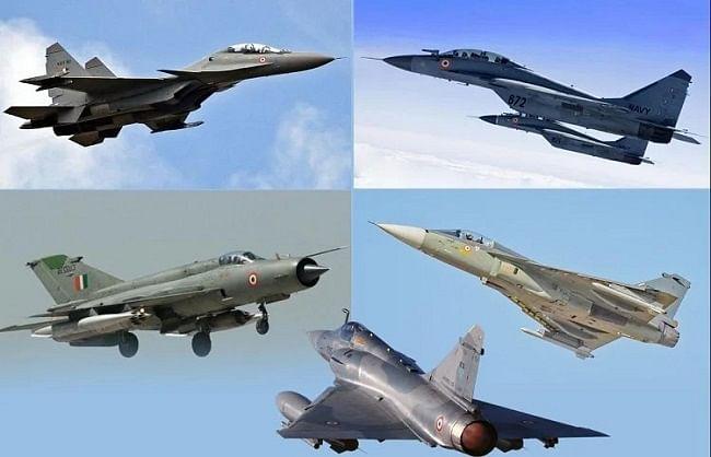 वायुसेना में लड़ाकू विमानों की बनेंगी 11 नई स्क्वाड्रन