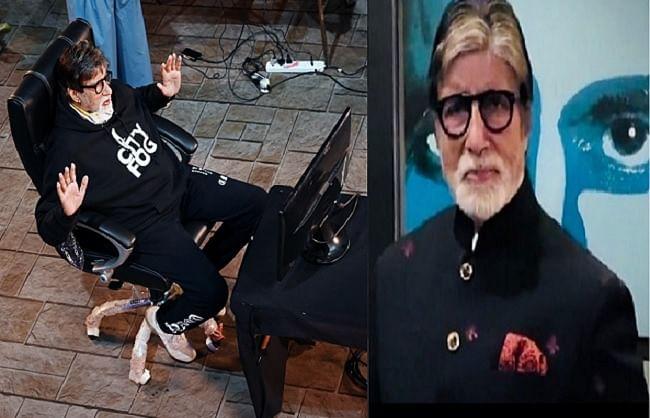अमिताभ बच्चन विशेष सावधानी के साथ कर रहे हैं केबीसी 12 की शूटिंग, शेयर की तस्वीरें