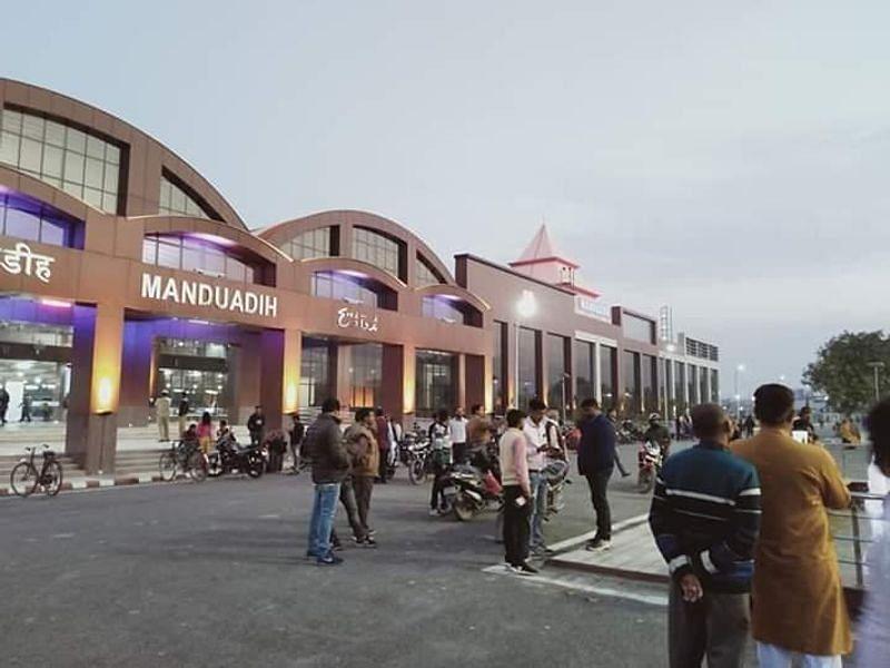 वाराणसी के मंडुआडीह रेलवे स्टेशन का बदला नाम, अब हुआ बनारस