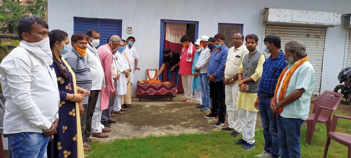 अमरजीत सिंह छाबड़ा के पुण्यतिथि पर भाजपाइयों ने दी श्रद्धांजलि