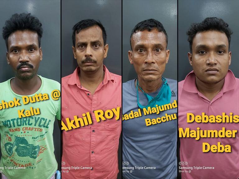 21 किलो गांजा और अन्य मादक पदार्थों के साथ चार तस्कर गिरफ्तार
