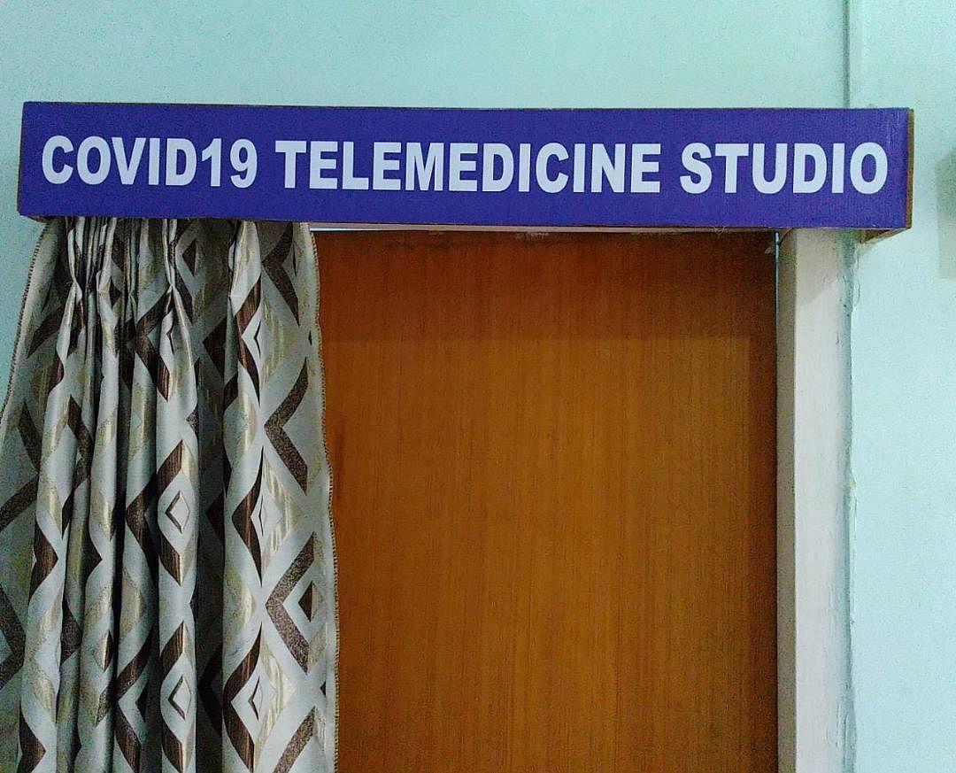 धनबाद में टेलिमेडिसिन स्टूडियो से अब तक 1457 लोगों को मिली ऑनलाइन परामर्श।