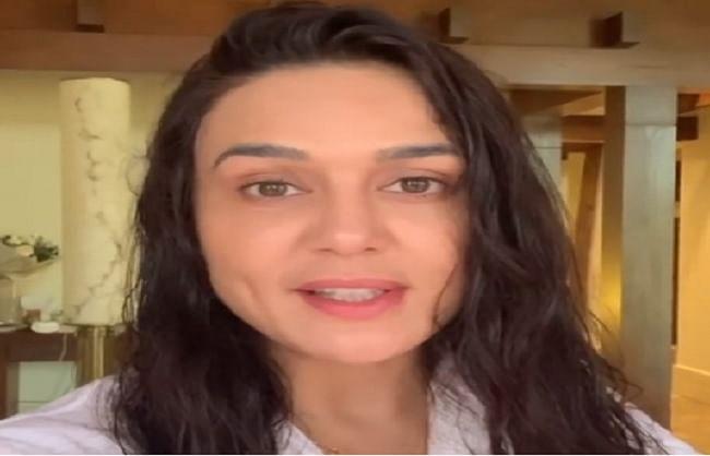 क्वारंटाइन से बाहर आने के लिए 'सुपर एक्साइटेड' हैं प्रीति जिंटा