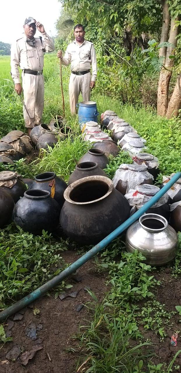 सिवनीः 800 लीटर महुआ लाहन बरामद