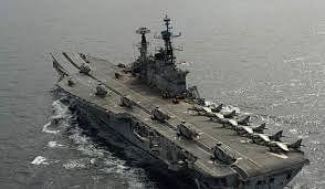 आईएनएस विराट अपनी 'अंतिम यात्रा' पूरी करके आज पहुंचेगा अलंग